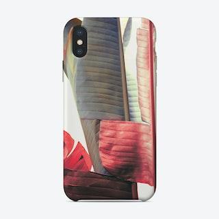 Banana Leaf 4 iPhone Case