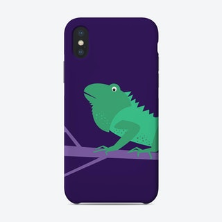Kids Room Iguana Phone Case