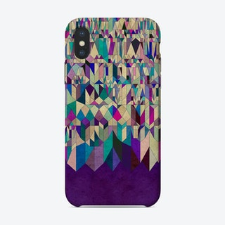 Purple Town Phone Case