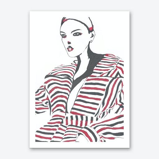 Brownstar 1 Art Print