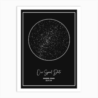 Your Sky Personalised Art Print