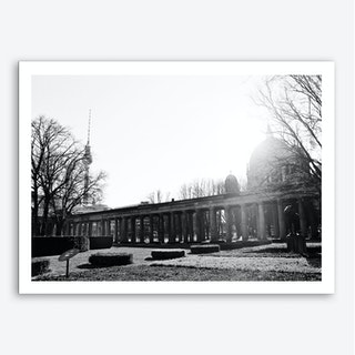 Museum Island Berlin Art Print