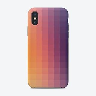 Lumen 13, Purple And Orange Gradient Iphone Phone Case