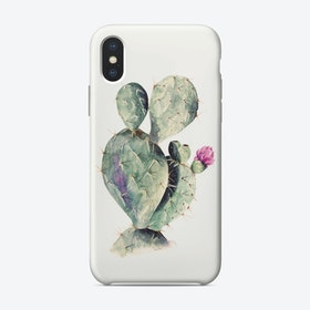 Cactus Watercolor iPhone Case