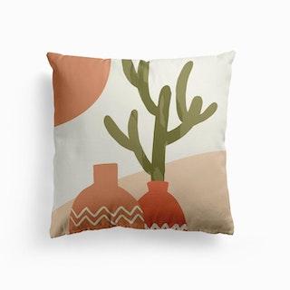 Cactus Vase Cushion