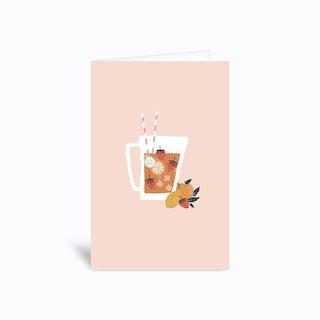 Jug Of Happiness Greetings Card