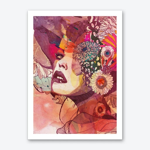 Gerbera 3 Art Print