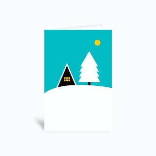 Cozy Winter Greetings Card