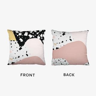 Terrazzo Pink 2 Cushion