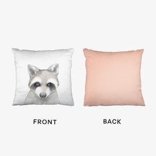 Nursery Raccoon Cushion