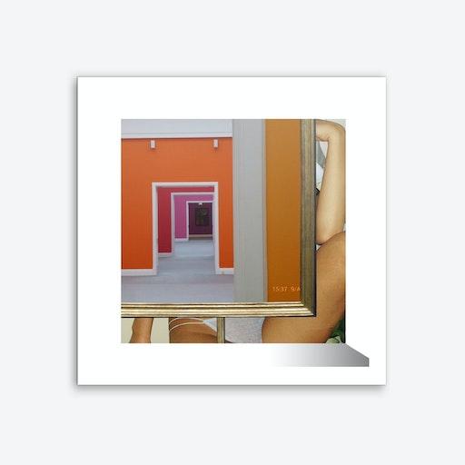 Rahmen Handlung 6 Square Art Print