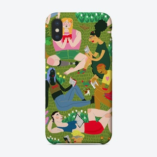 Summer Reading Club Phone Case