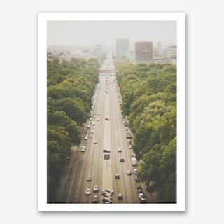 Into The City Art Print