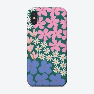 Plant More Flowers Green Phone Case