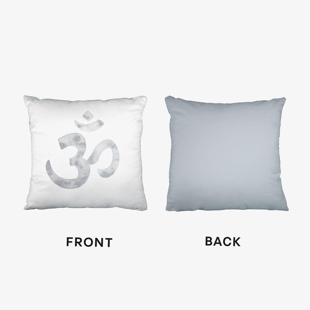 Om Sign Cushion