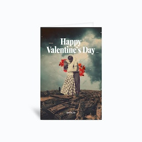 Stand by me Valentine Greetings Card