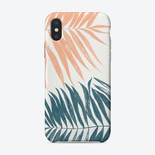 Soft Coloured Palm Leaves Case Phone Case