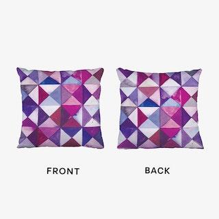 Purple Quilt Cushion