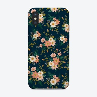 Peach Flowers Phone Case