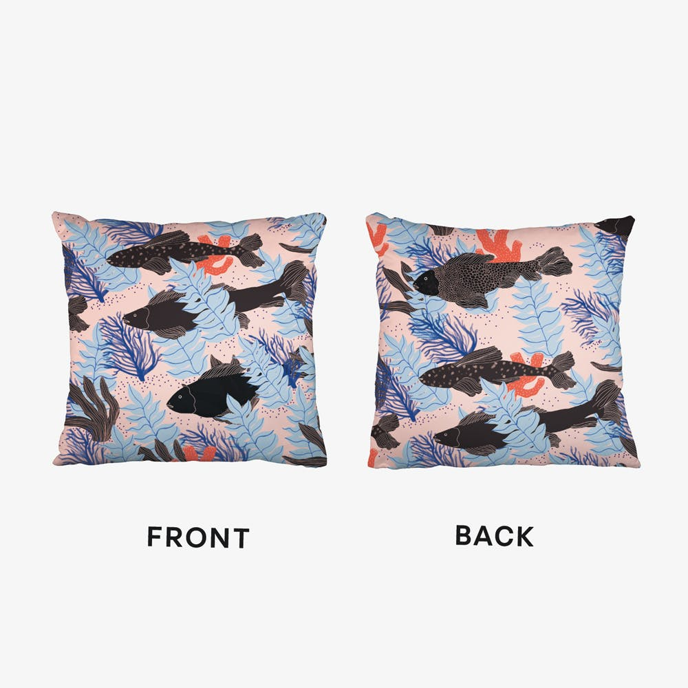 Fishes Cushion