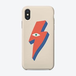 Ziggy Bowie Eye Phone Case
