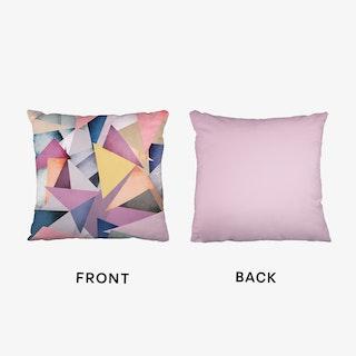 Fragments 1   Pink Cushion
