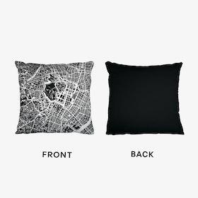 Tokyo Black And White Cushion