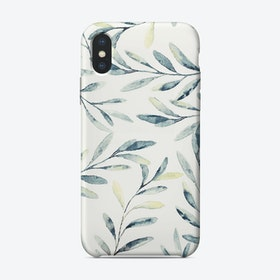 Craneleaves iPhone Case