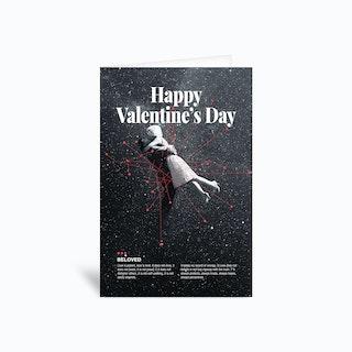 Beloved Valentine II Greetings Card