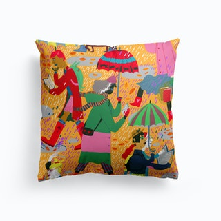 Fall Reading Club Cushion