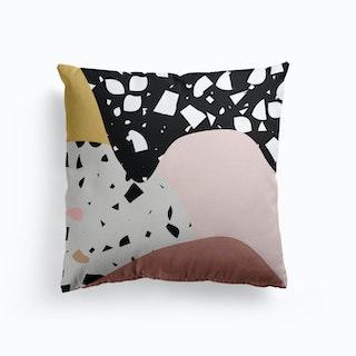 Terrazzo Pink Cushion