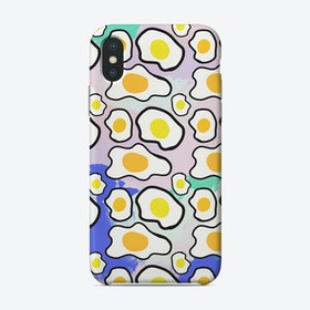Fried Egg Colourful Phone Case