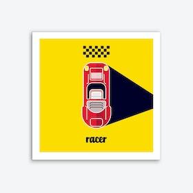 Racer Two Art Print