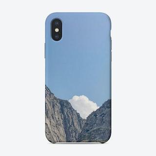 The White Cloud Phone Case