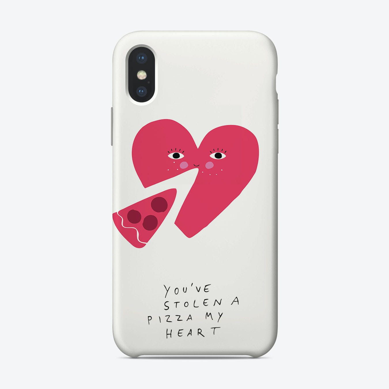 A Pizza My Heart Phone Case