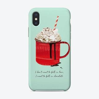 Fall In Chocolate Phone Case