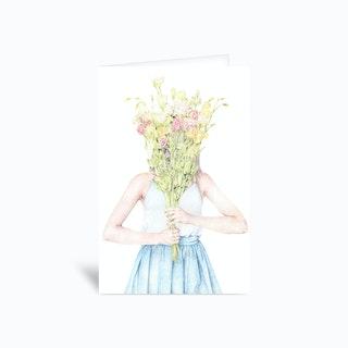Wildflowers 4x6 Greetings Card