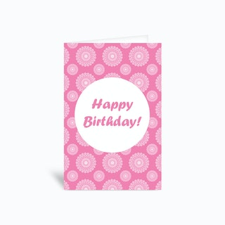 Happybdy P  Greetings Card