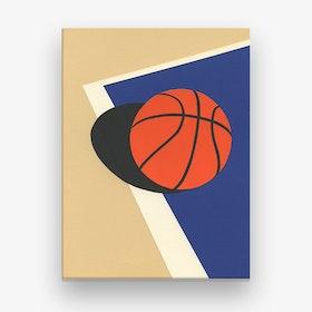 Oakland Basketball Team Canvas Print