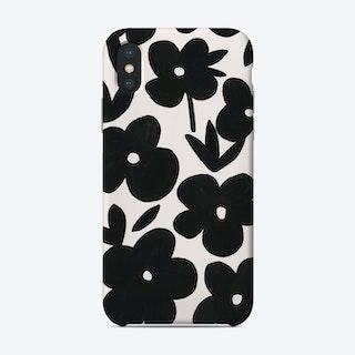 Daisies Black Phone Case