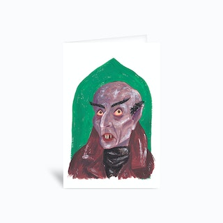 Nosferatu Sambulll Greetings Card