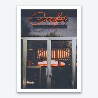 Café Berlin Art Print
