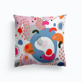 Candy Abstract Cushion
