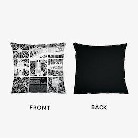 Paris Fragments Cushion