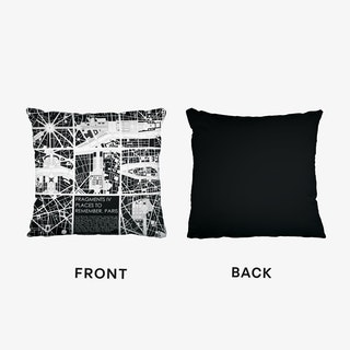 Paris Fragments Cushion