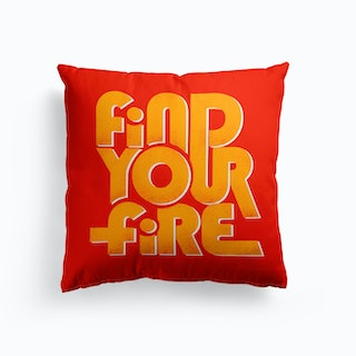 Find Your Fire 2 Cushion
