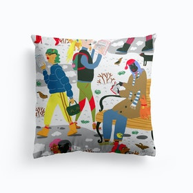 Winter Reading Club Cushion