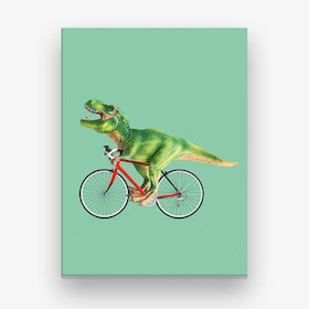 Rex Bike Canvas Print