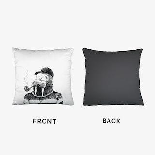 Hipster Walrus Cushion