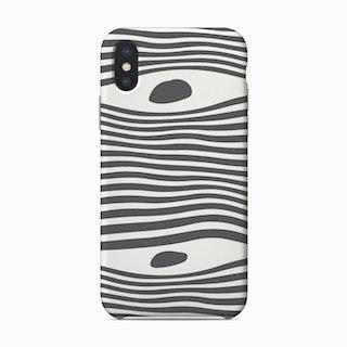 Eye Spy In Grey Phone Case